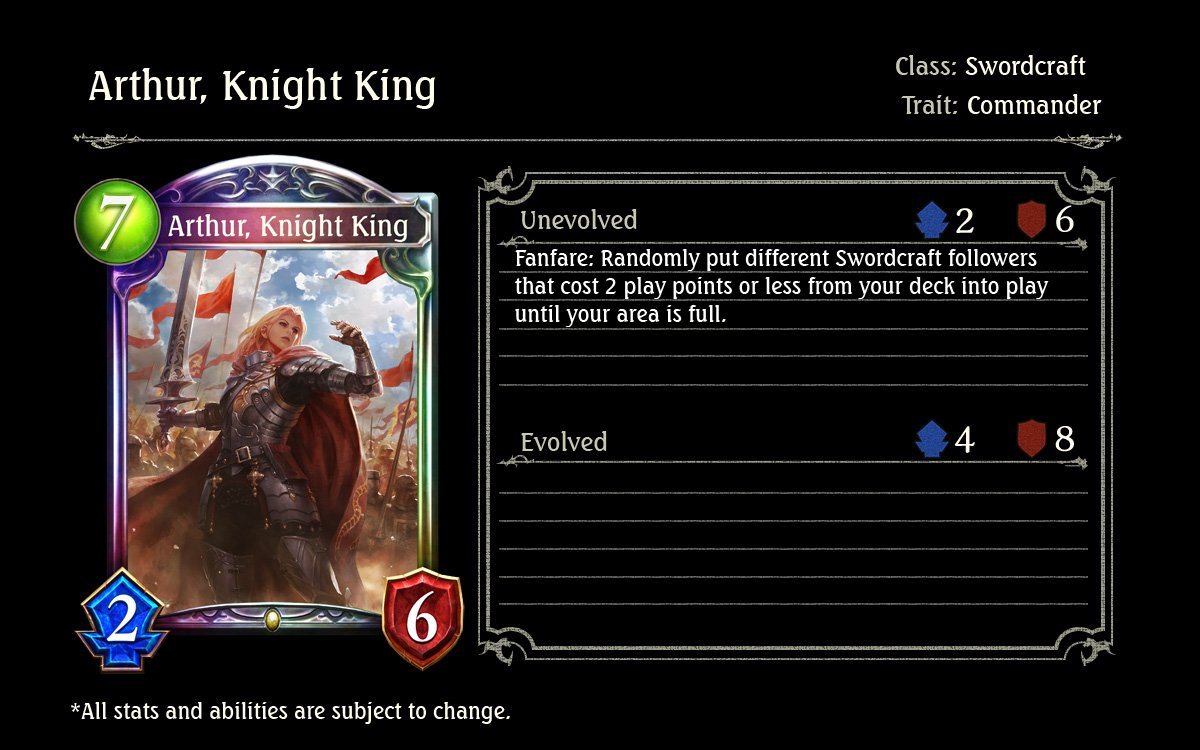 Shadowverse On Twitter The Soldiers Unsheathed Their Blades And