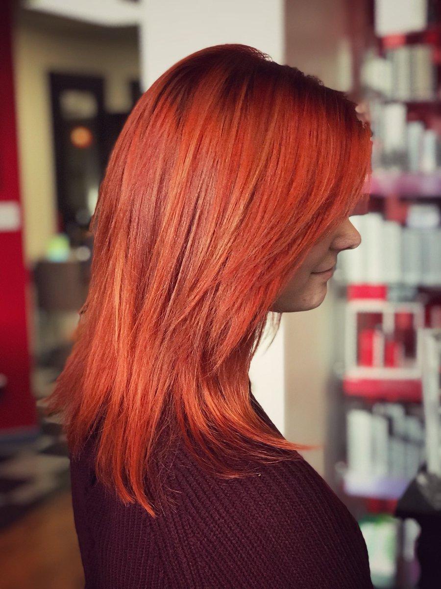 T Sala Salon Spa On Twitter Check Out Reece S Hair Deep Apricot