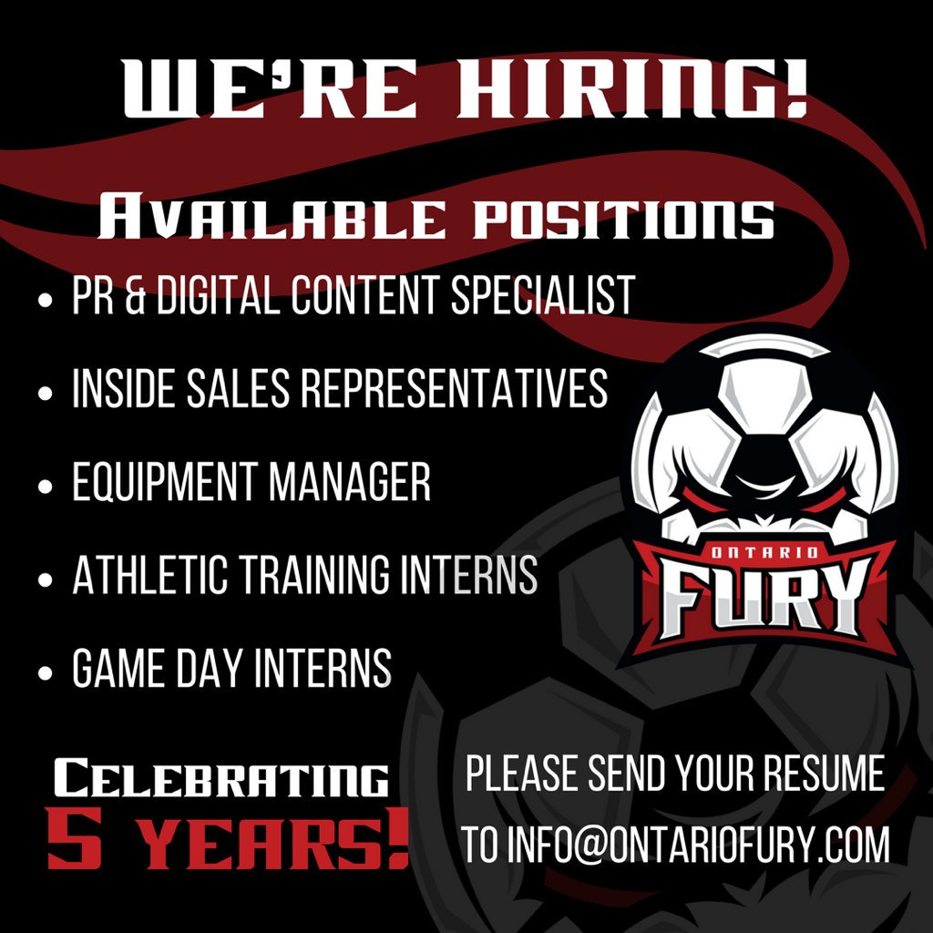 those interested should submit their resume and cover letter to infoontariofurycom inlandempire jobspictwittercomgrquy3ski2