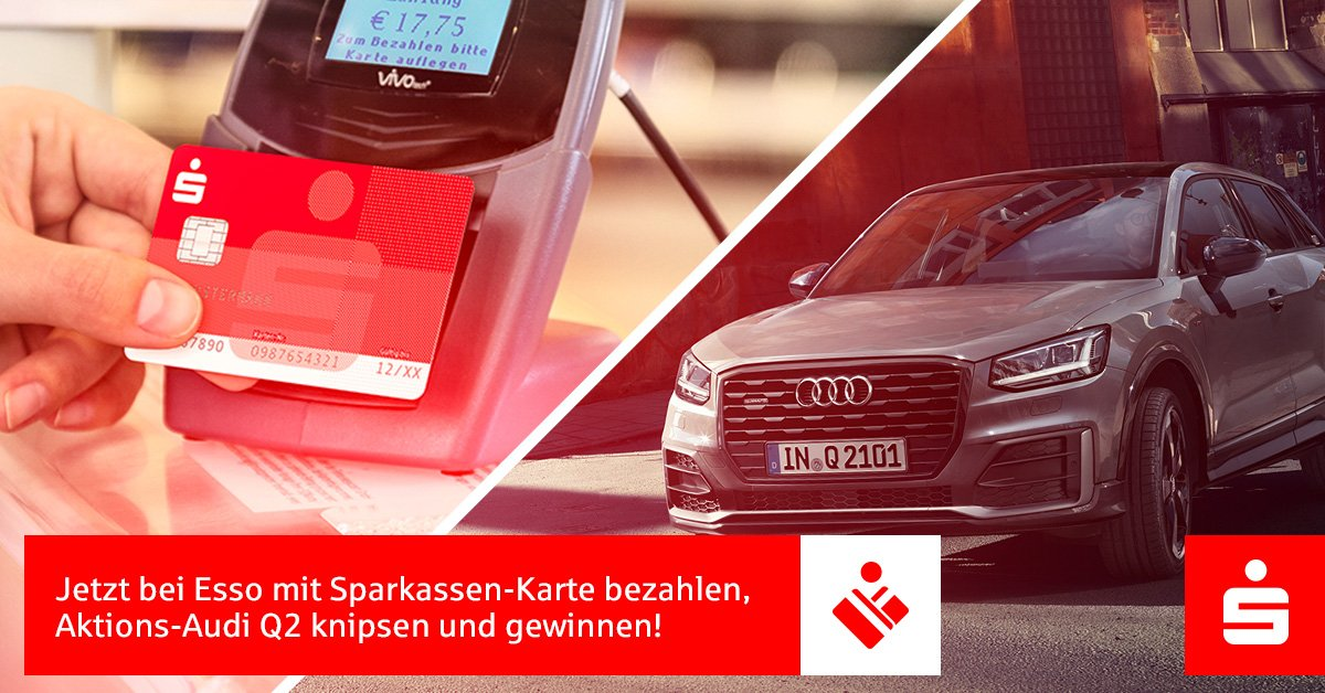 Tanken Mit Karte Gewinner.Sparkasse On Twitter Mit Der Sparkassen Karte Bei Esso Für Mind