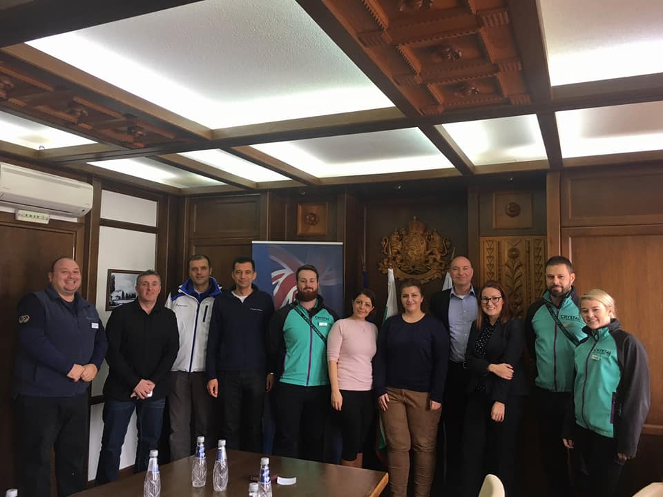 The Consular team had successful and informative meetings with local authorities, tour operators @crystalski Balkan Holidays Winter & management companies in Borovets and Bansko on 19-20 December highlighting safety and security of British visitors. #SkiSafe in Bulgaria. https://t.co/Rz2qZ8mVIn