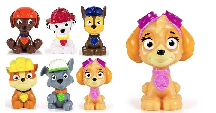 Paw Patrol 6-Piece Figure Set Just $8.38! Last Minute Stocking Stuffer! -  #PawPatrolFigures