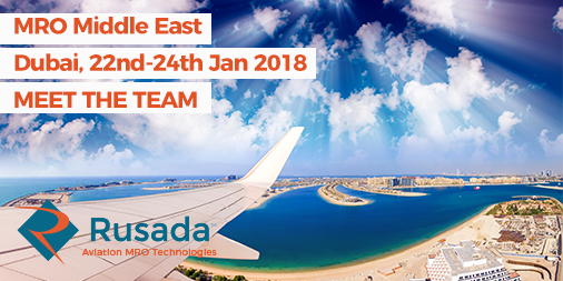 We're going to be in Dubai for # MRO Middle East in January. Would you like to meet the Rusada team? Get in touch here https://t.co/hpw7Yrl8iH #MROME