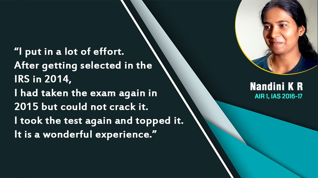 Formula Upsc On Twitter I Put In A Lot Of Effort After Getting Selected In The Irs In 2014 I Had Taken The Exam Again In 2015 But Could Not Crack It