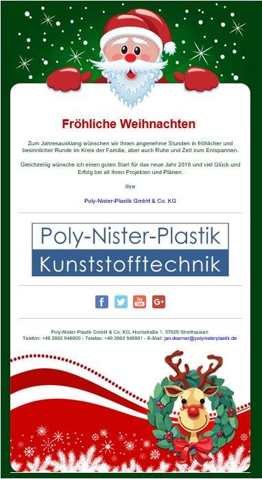 Frohe Weihnachten An Kollegen.Poly Nister Plastik On Twitter Wir Wünschen Frohe Weihnachten Und