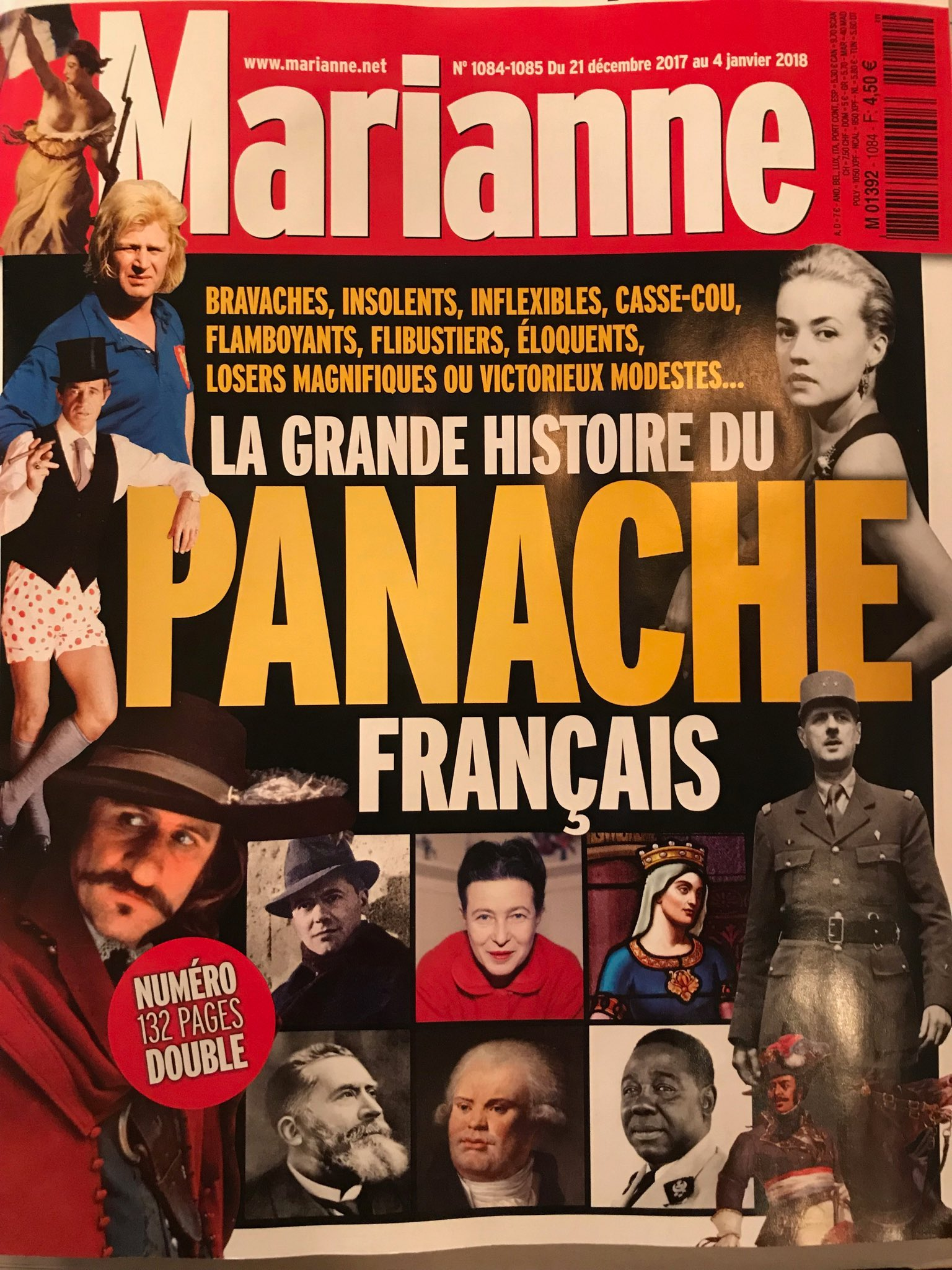 "Agnes C. Poirier on Twitter: ""Great double issue of #Marianne ...on French # panache… """