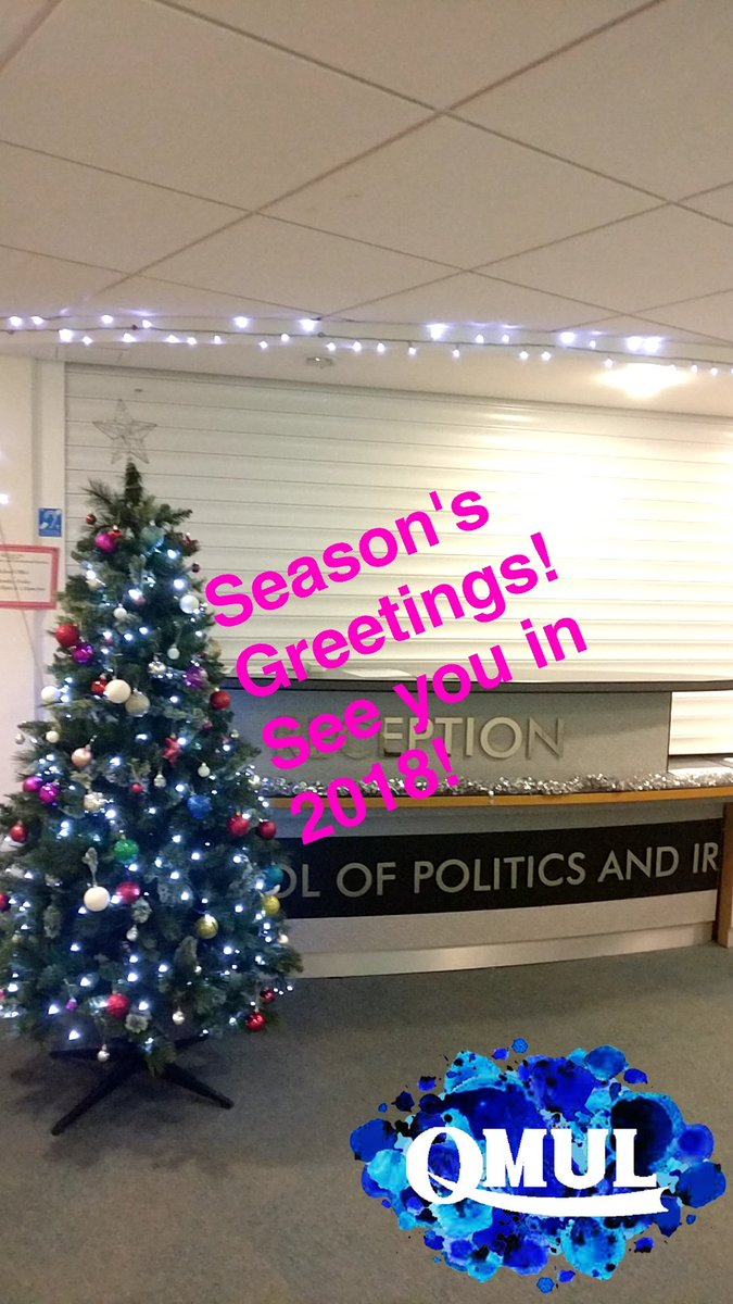 Qm politics ir on twitter seasons greetings to all wishing you qm politics ir on twitter seasons greetings to all wishing you all a restful break and all the very best for 2018 kristyandbryce Image collections