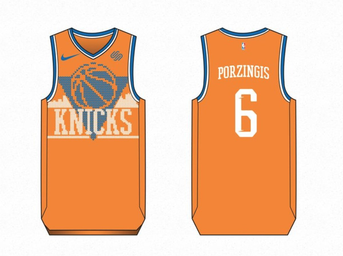 08da0c5e6d2 christmas nba jerseys are cool but these fan created ugly sweater jerseys  are incredible