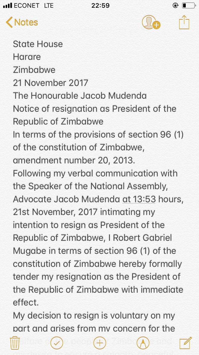 Povo Zim On Twitter Zimbabwe Happy Mugabe Resignation Anniversary