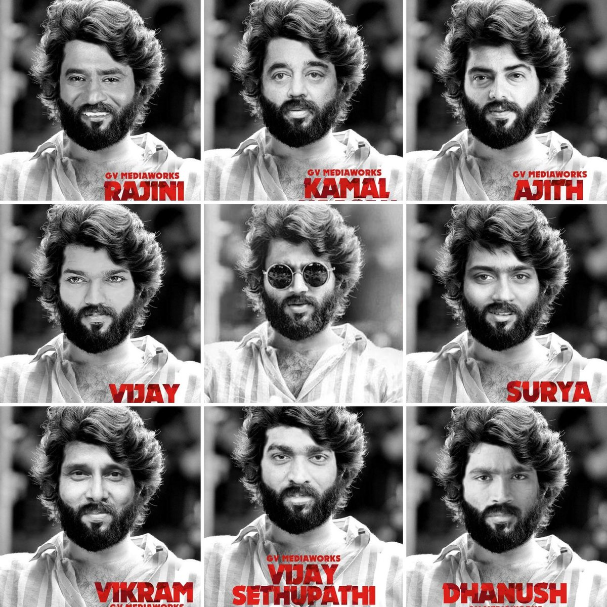 Which actor fits Arjun Reddy get up? Whom do you pick?