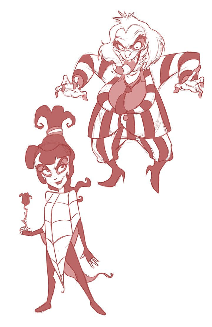 David Perry On Twitter It S Showtime Workin On Some Fan Art Sketches Are Done And Hopefully There Ll Be Color Super Soon Anyone Else Love The Beetlejuice Cartoon As A Kid That Theme