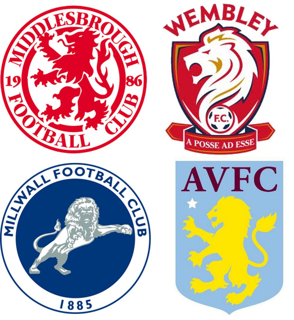 Theuglygame on twitter the fa claim people seeing the letters fc heraldic symbols in the world and a staple of many football crests because the england team have three lions on their shirtpicitterujmybcznfk biocorpaavc Choice Image