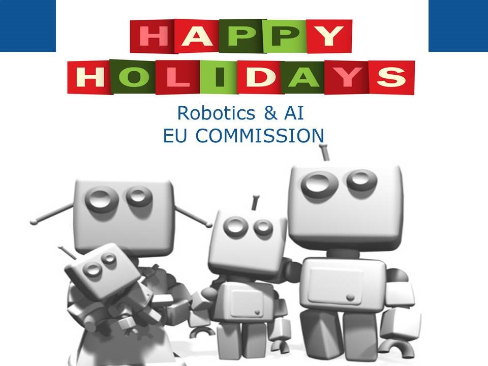 Robotics Ai Eu On Twitter With Best Wishes For The Holidays