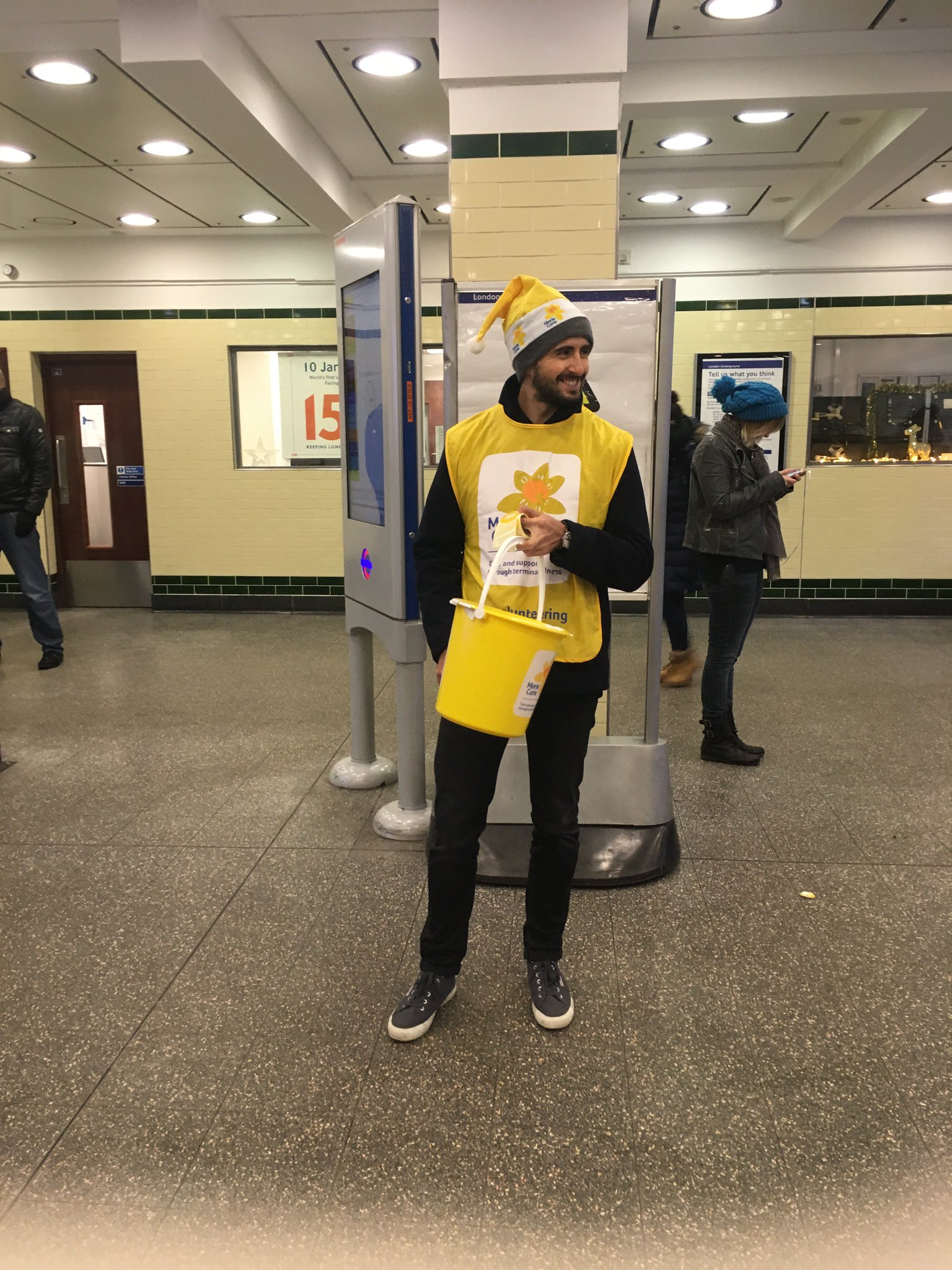 RT @UMLondon: #TBT to #Christmas collecting to @mariecurieuk last week. Over £1,800 raised in one morning! https://t.co/z1IrVTV39f