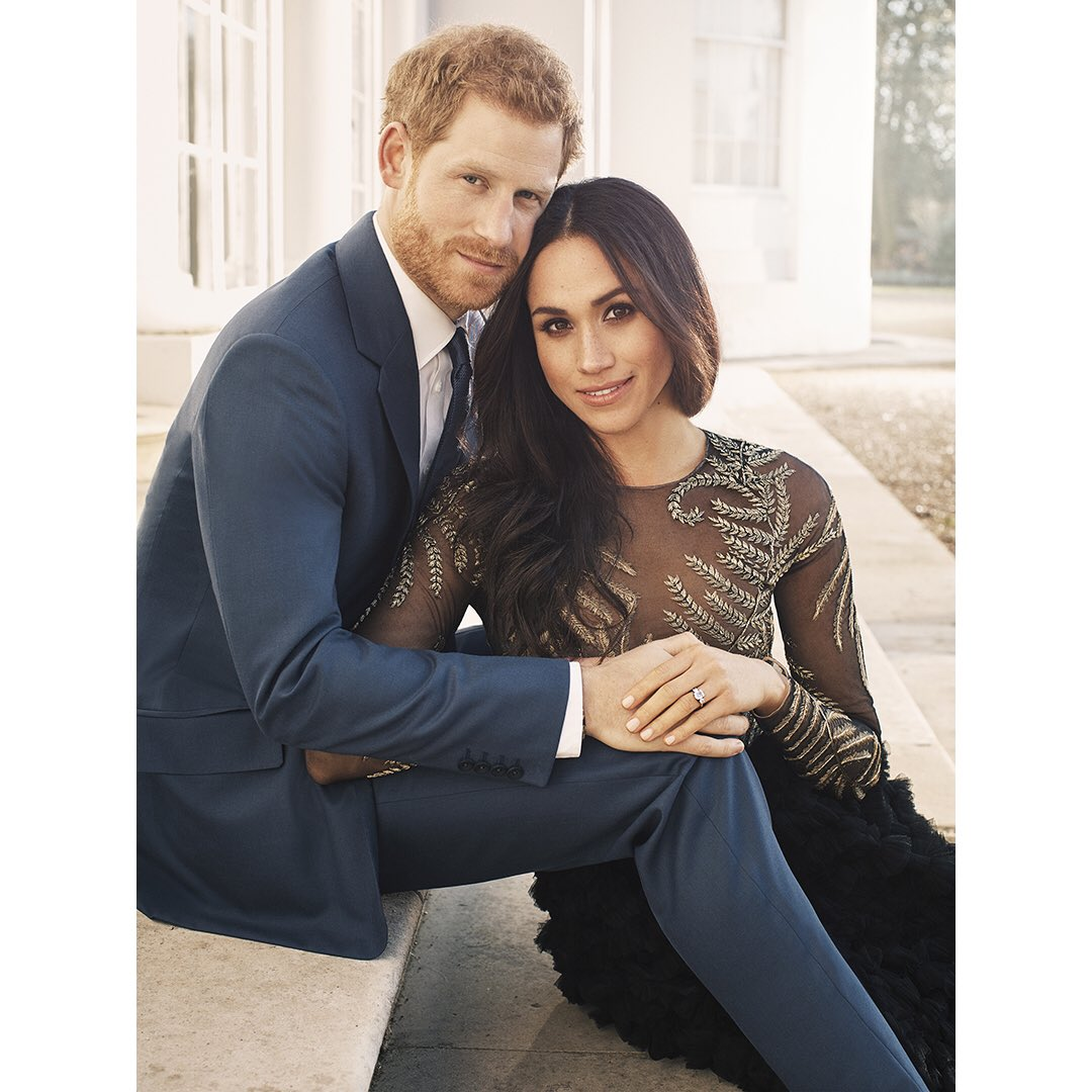 Prince Harry and Ms. Meghan Markle, December 2017. https://t.co/HrAc9FeN51