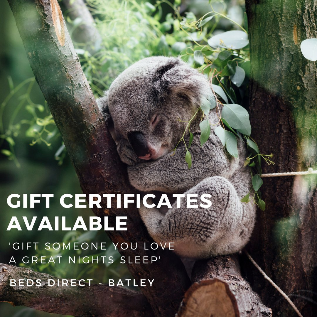 ... this Christmas... with over 40 mattresses to choose from, pre-load a gift certificate and let your loved one do the choosing!