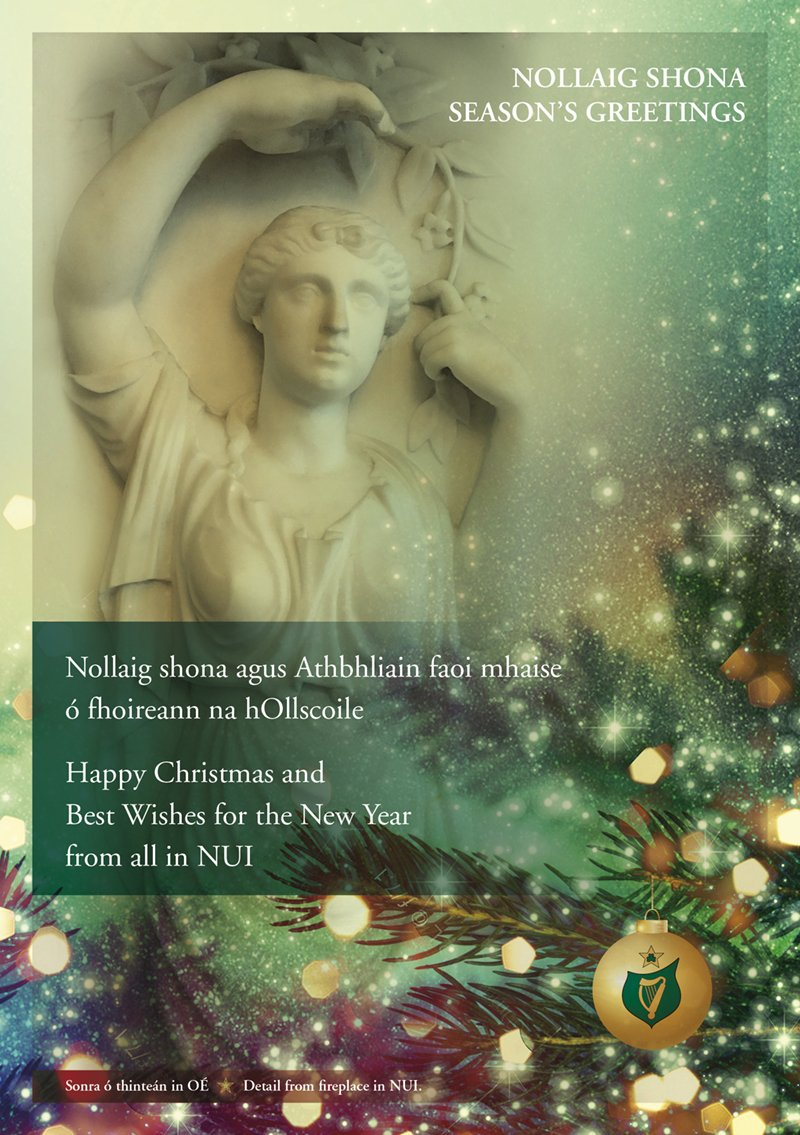 Nui On Twitter Christmas Greetings From Nui Chancellor Dr Maurice