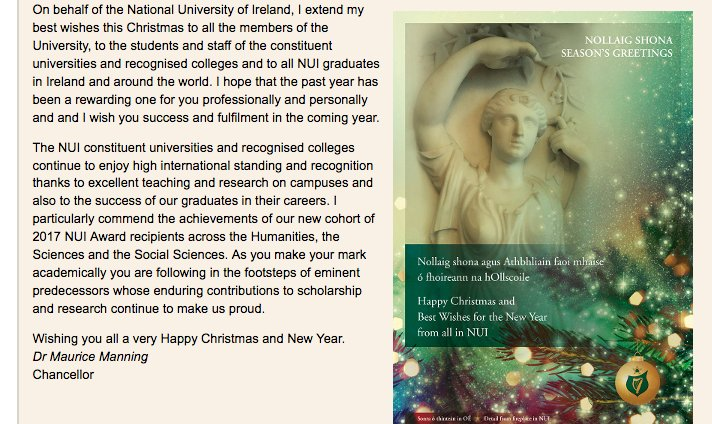 Nui on twitter christmas greetings from nui chancellor dr maurice nui on twitter christmas greetings from nui chancellor dr maurice manning and all at nui wishing you all a very happy and peaceful christmas and new m4hsunfo