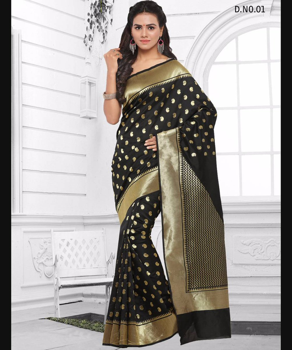 08fd9fc20b Buy stylish cotton silk sarees online at best affordable prices in india.  Shop now : http://bit.ly/2kSE9uU #designersaree #cottonsilksaree ...
