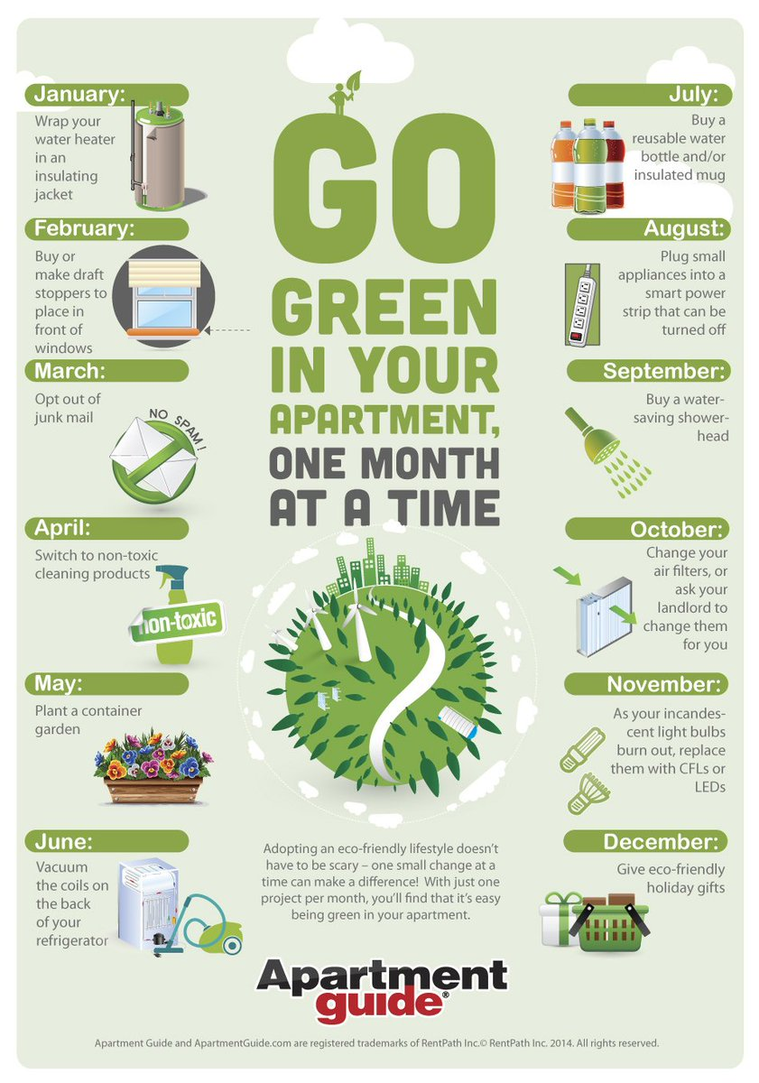 Go Green Office On Twitter Sustaility Tips For Your Home One Month At A Time This Infographic From Https T Co Powqa7ppn5 Gives You Some Ideas To