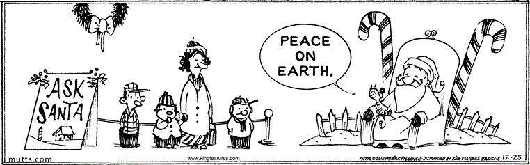 Gift of Peace on Earth