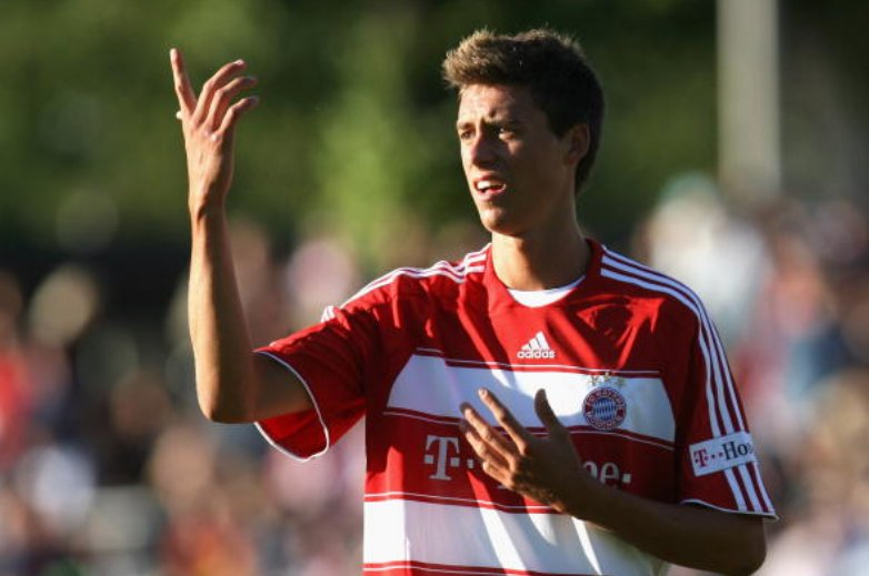 19 year-old Sandro Wagner at Bayern, 200...
