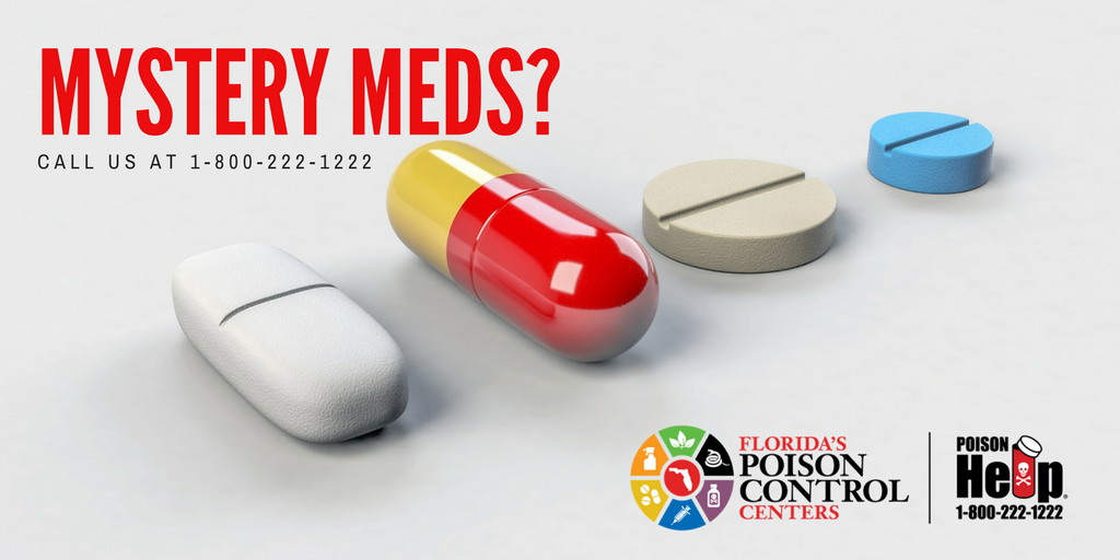 'Tis the season for travel & this can lead to medicine mistakes. If you  ever need help identifying a pill, call 1-800-222-1222. All we need are the  letters, ...