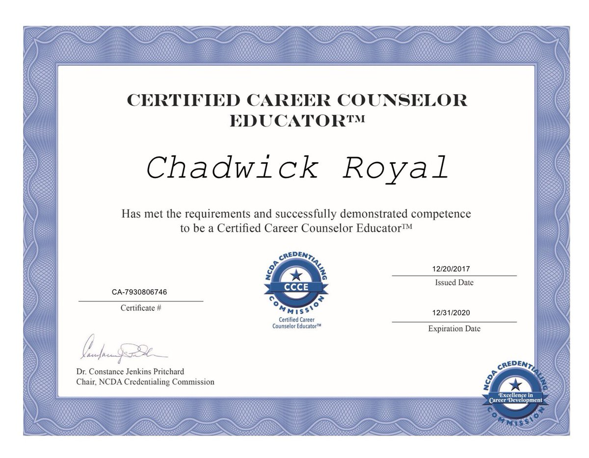 Nccu Counseling On Twitter Dr Chad Royal Chadwickroyal Has