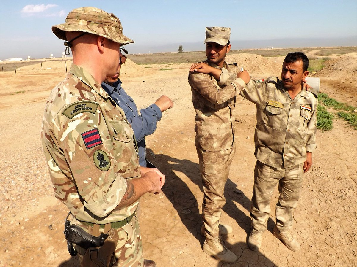 "UK Against Daesh On Twitter: "".@BritishArmy Royal Engineer"