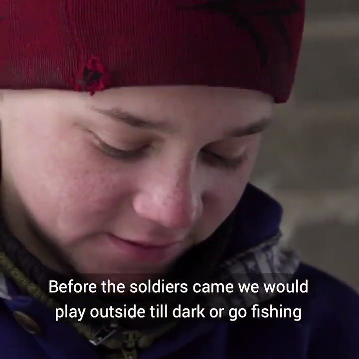 In a split second this teenager's life changed forever. #ChildrenUnderAttack