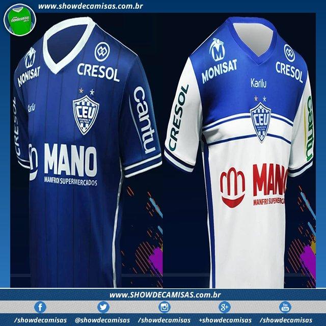 Veja as novas camisas que a  Karilu  Karilu Sport fez para o  Uniao de   FrancisoBeltrao usar no Campeonato  Paranaense em 2018. ... cb90658cbc9bd