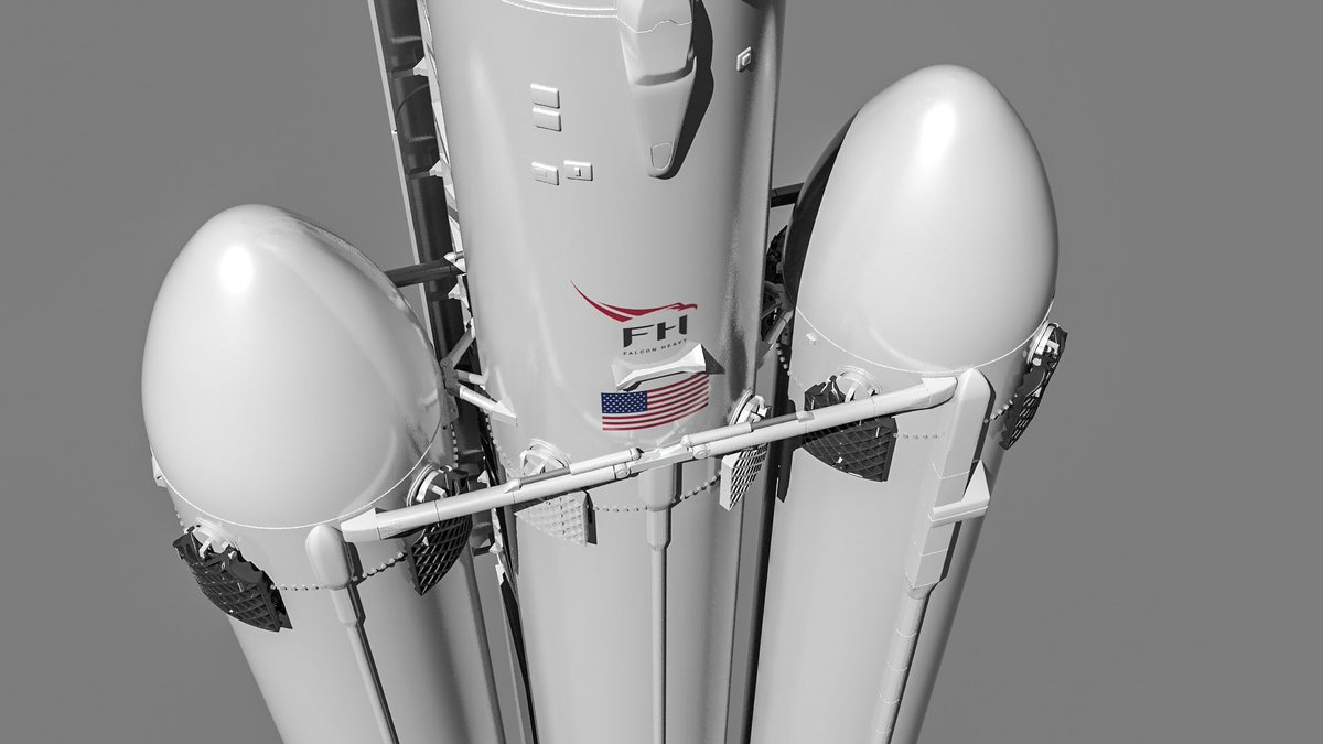 "Oli Braun on Twitter: ""Falcon Heavy up close and personal ;)… """