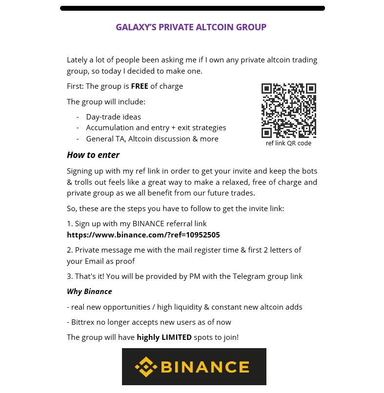 Telegram Trading Group