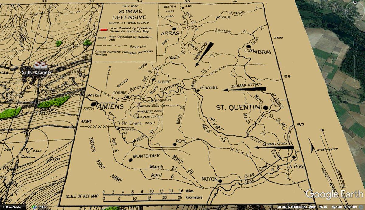 Erik Villard On Twitter Somme Defensive Map Wwi 6th Engineers Of