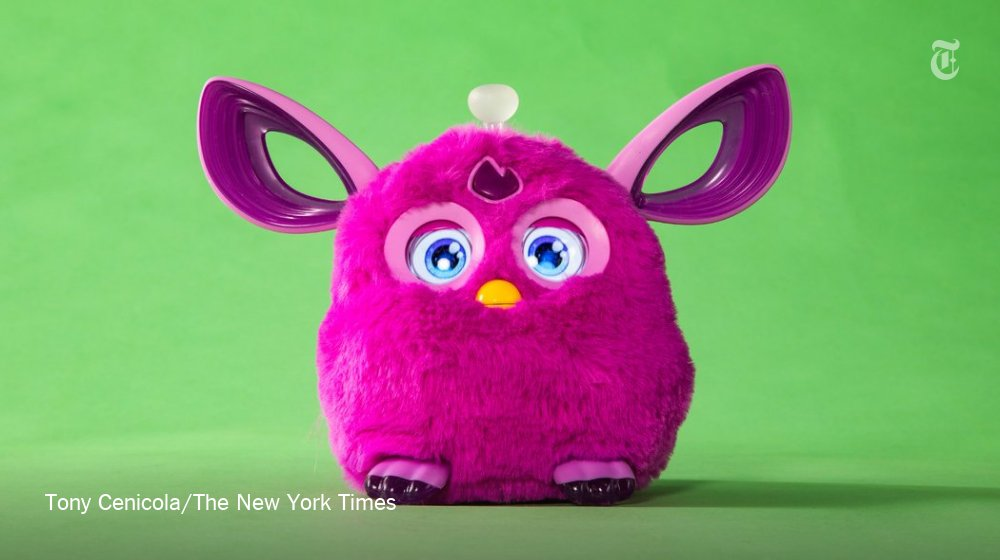 These cute little toys could bring a hacker inside your home https://t.co/3XVDEt4ZxT https://t.co/4Wy288sFzh