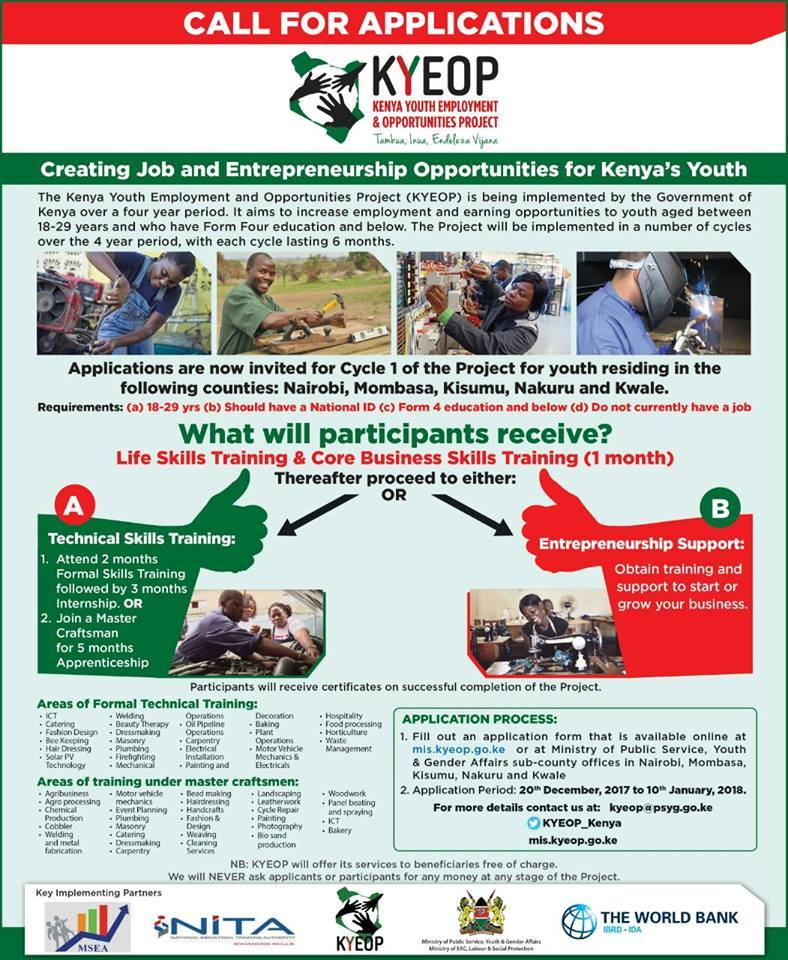 Youth Senate Kenya's tweet -