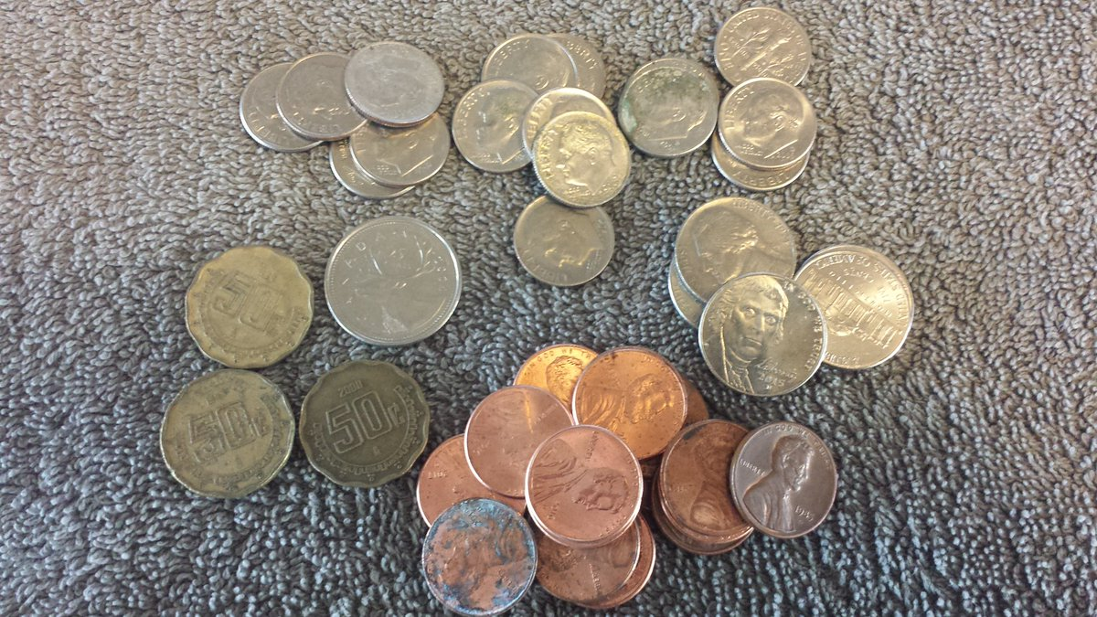 Coins For Amateurs On Twitter Found Loaded Coinstar Reject Tray Today  Mexican 50  Unfortunately No Silver Or Oldies