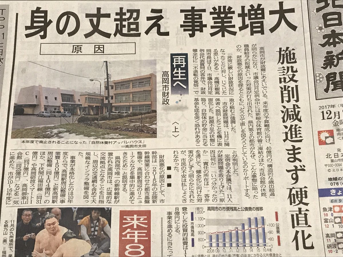 高岡市財政難 hashtag on Twitte...