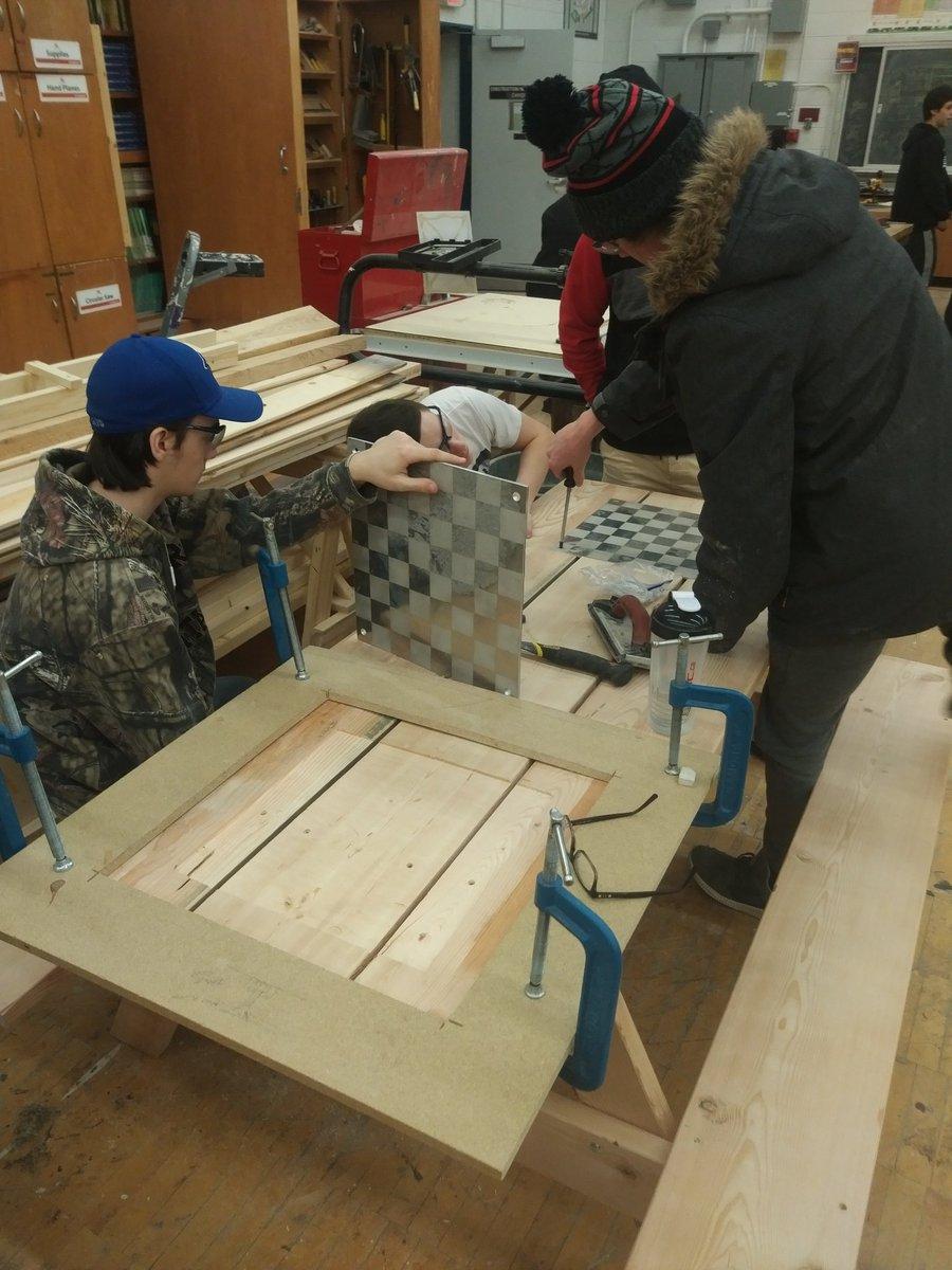 LPSHammarskjold On Twitter Grade Students Building Picnic - 12 person picnic table