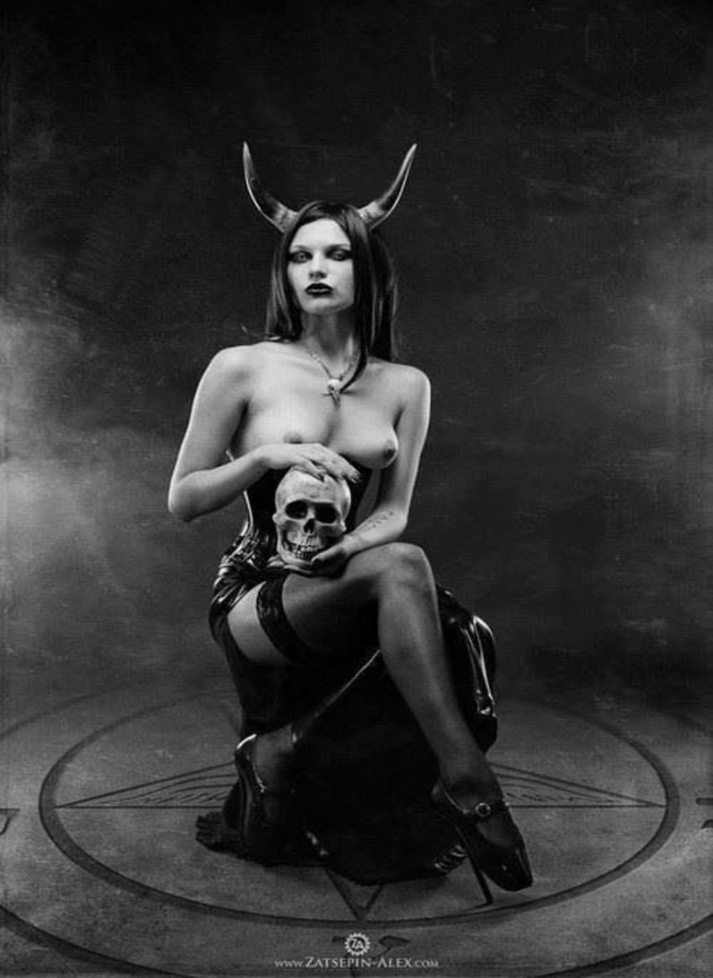 Satan girls naked