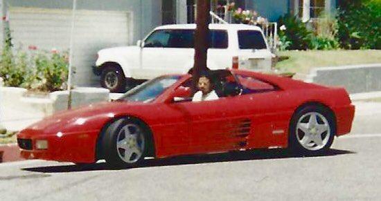 Photo of Al B. Sure!  - car