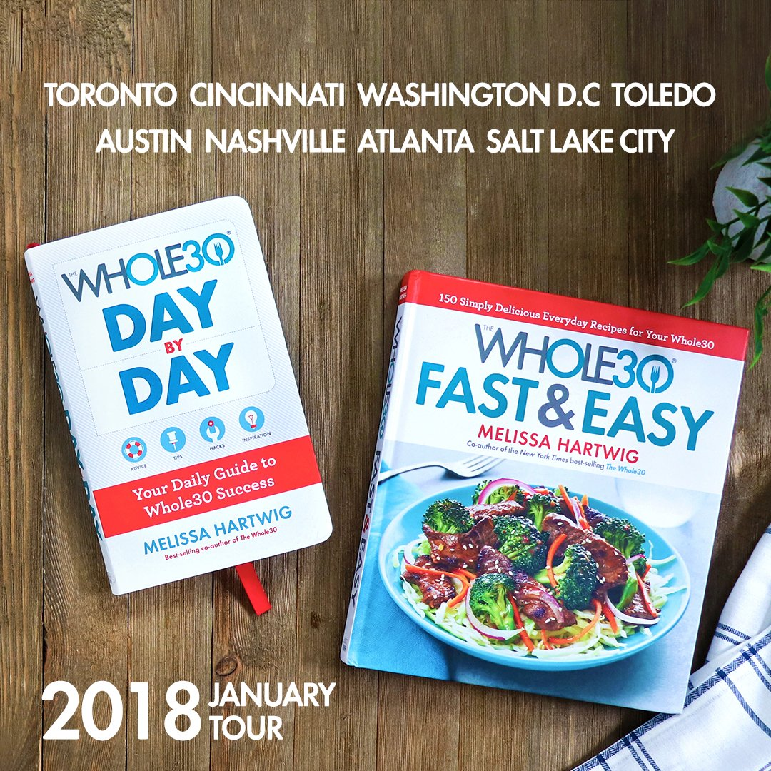 Whole30 on twitter are you joining us for the januarywhole30 in 8 cities including canada throughout january to sign books answer your whole30 questions and encourage you onto januarywhole30 success forumfinder Images