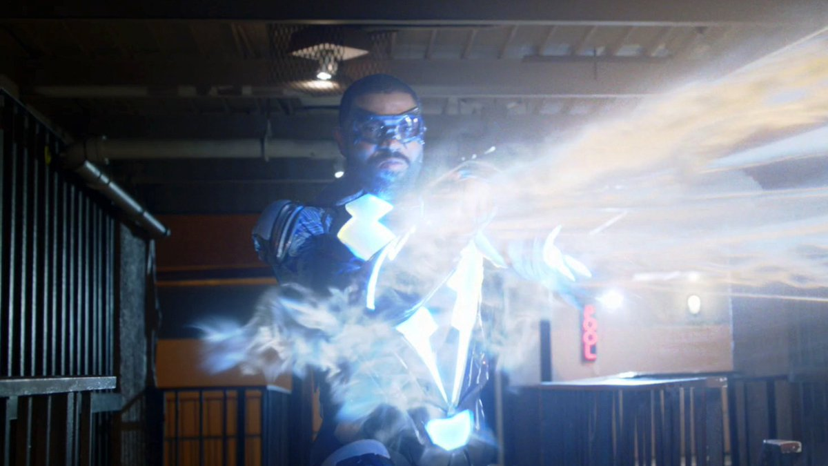 Let the world know #BlackLightning is co...