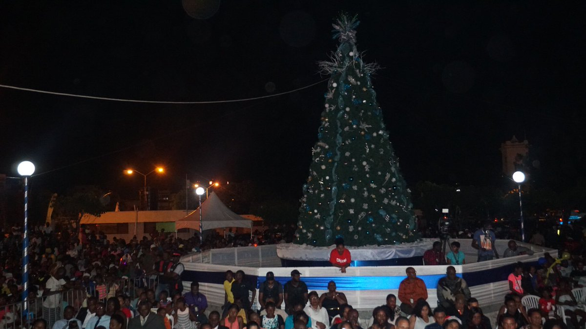 Image result for tree lighting in kingston jamaica 2017