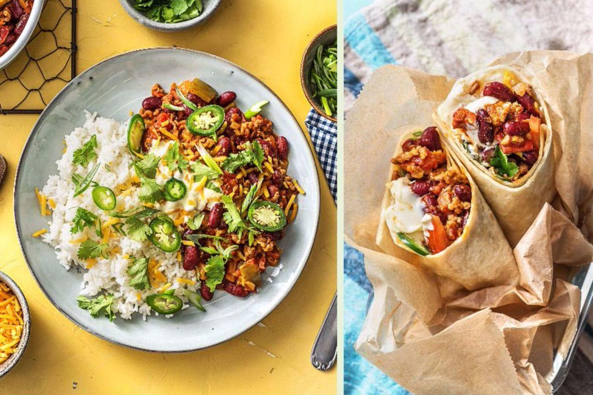 Hellofresh Us Pa Twitter A Delicious Chili Tonight Turns Into A Scrumptious Burrito For Lunch Tomorrow Feast Your Eyes On This Chorizo And Beef Chili Recipe Https T Co Z191wivxm4 Getcooking Trythis Eeeaaats Https T Co Uuo7k0j4fn
