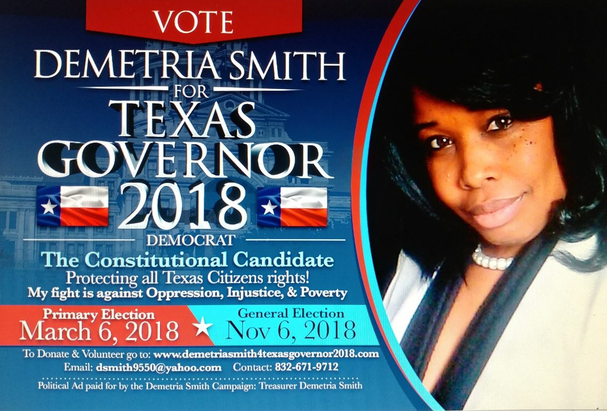 Image result for Demetria Smith for governor
