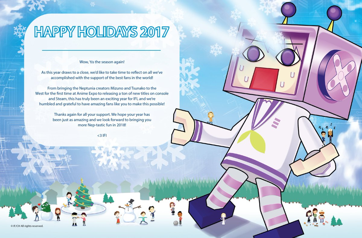 Idea Factory Intl On Twitter A Year End Message And Holiday