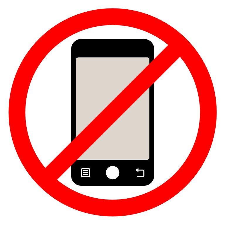 Картинки мобильный телефон запрещен
