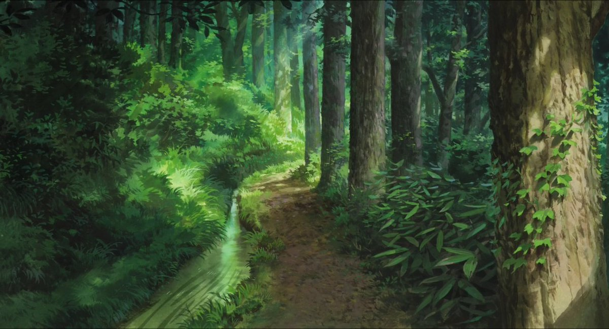 Backgrounds from The Wind Rises (Kaze tachinu, 2013, Studio Ghibli) :