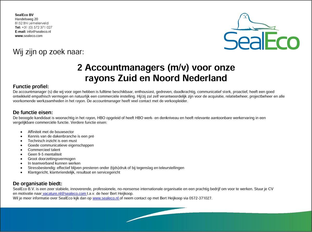 eisen motivatiebrief Sealeco_NL on Twitter: